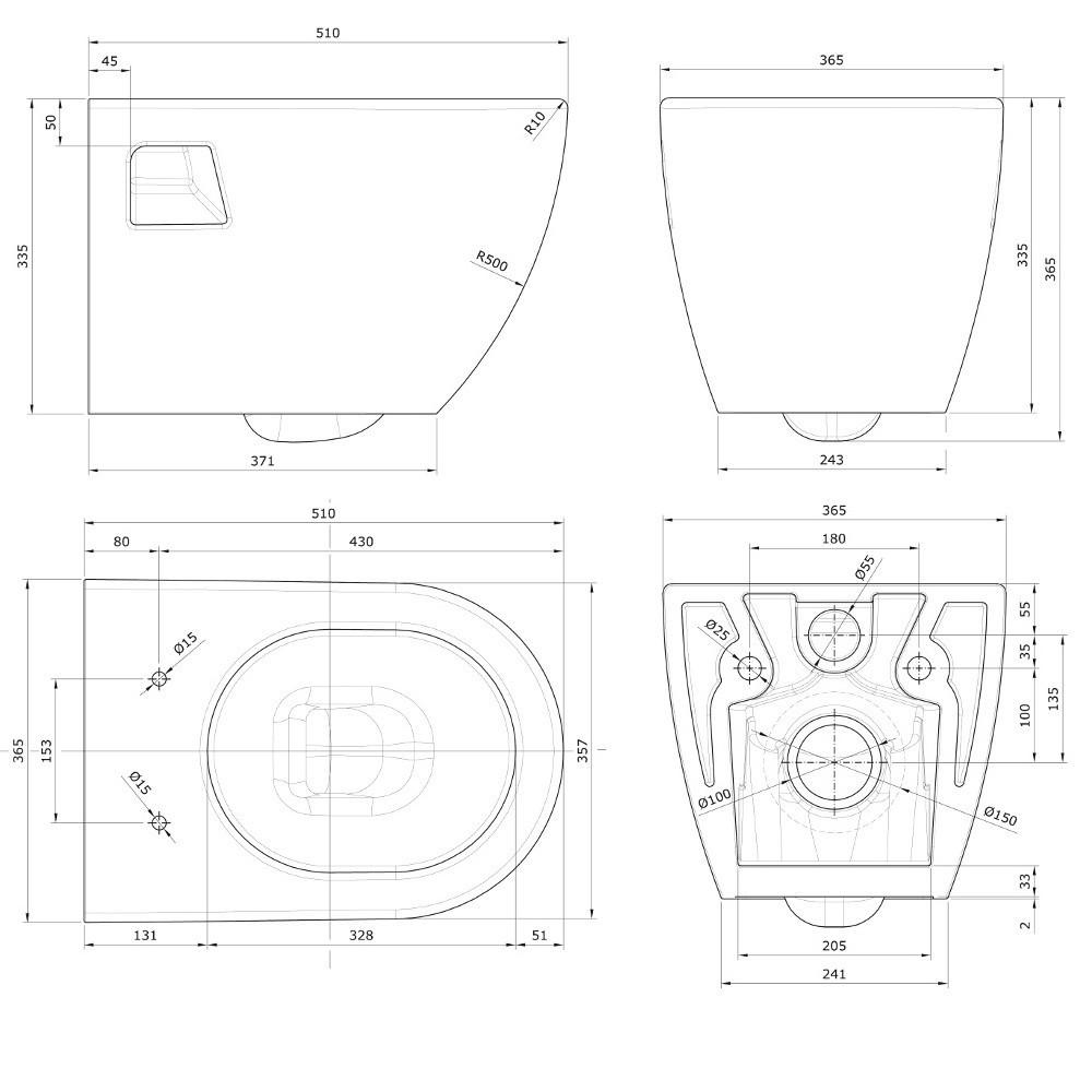 paket] grohe rapid sl wc komplettset vorwandelement