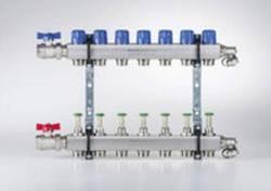 Buderus Empur Heizkreisverteiler Systemverteiler Durchflussmengenmesser