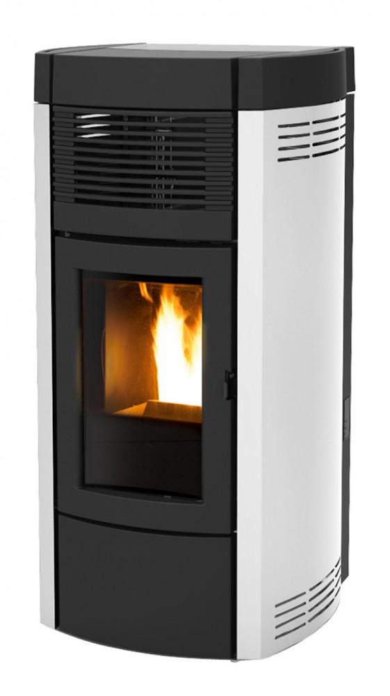 mcz musa 2 0 air pelletofen pelletkaminofen 10 kw thermostat fernbedienung. Black Bedroom Furniture Sets. Home Design Ideas