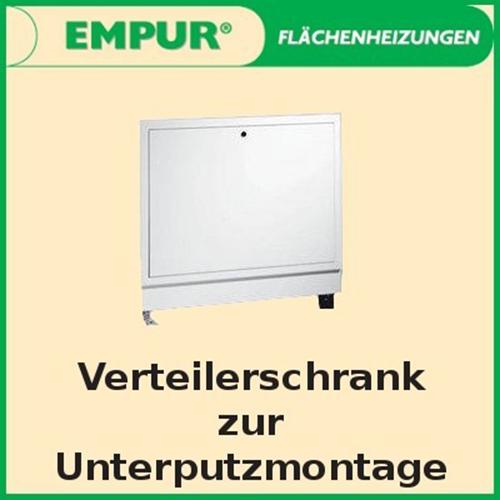 Empur Unterputz Verteilerschrank Exclusiv Verteilerkasten