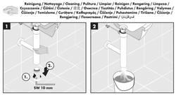 "Hansgrohe Flowstar Design Siphon Set avec caches 1 1/4"" – Bild 5"