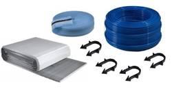 Buderus Fußbodenheizung - Set Kunststoffrohr Dämmplatten 20-2 mm Tackersystem
