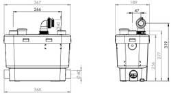 SFA SANISPEED + la pompe pour les buanderies avec plusieurs machines – Bild 2