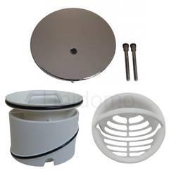 VIEGA Tempoplex kit. couverture  , Tube plongeur, Passoire de cheveux – Bild 1