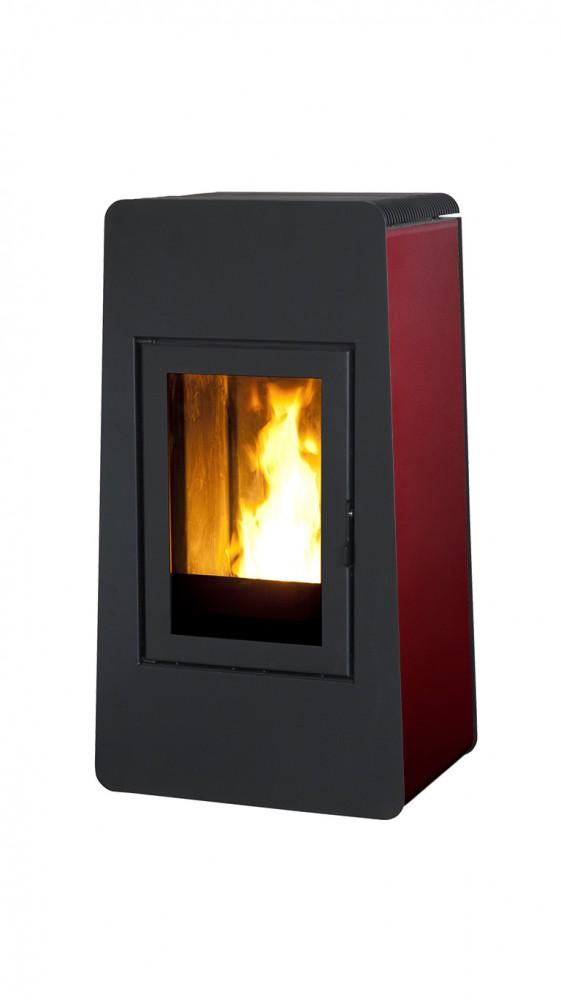 mcz leiser pellet kaminofen lam natural 8 kw kamin ofen pellets inkl thermostat fernbedienung. Black Bedroom Furniture Sets. Home Design Ideas