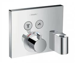 Hansgrohe Set de finition pour Thermostatique ShowerSelect E encastré 2 fonctions