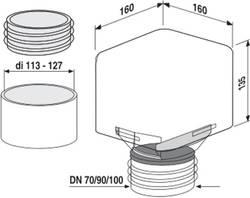Sanit Ventilair DN 70-100 red # 11.A23.00..0099 – Bild 3