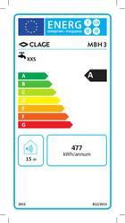 Clage MBH 3Chauffe-eau électrique instantané 3,5 Kw # 1500 + 16003 – Bild 2